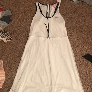 White Hunter Mesh Dress